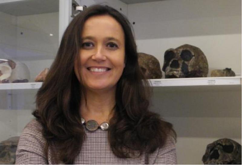 A galega María Martinón, directora do Centro Nacional sobre a Evolución Humana