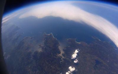 A sonda que levou ao ceo a Axencia Espacial Escolar Galega