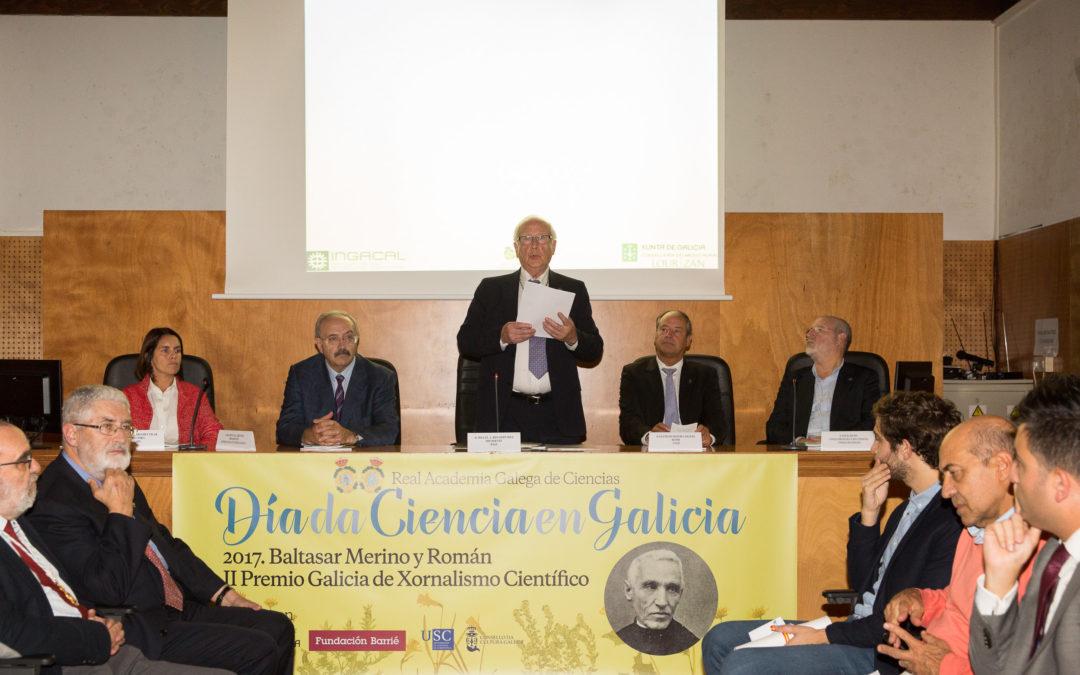 Homenaxe a Baltasar Merino no Día da Ciencia en Galicia